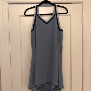BCBG Light Blue Swing Dress